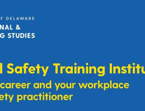 Get COSS or COSM Safety Trainings at the University of Delaware in 2020