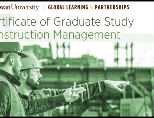 Earn a Graduate Certificate in Construction Management Online from Rowan University