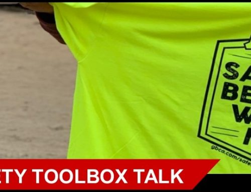 GBCA Safety Toolbox Talk: Near Misses are Warnings