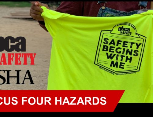OSHA 2020 Focus Four Hazards Toolbox Talks: Struck-by Object Hazards