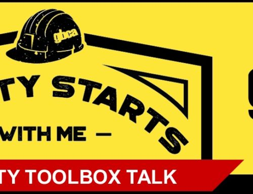 GBCA Safety Toolbox Talk: Falling from Heights