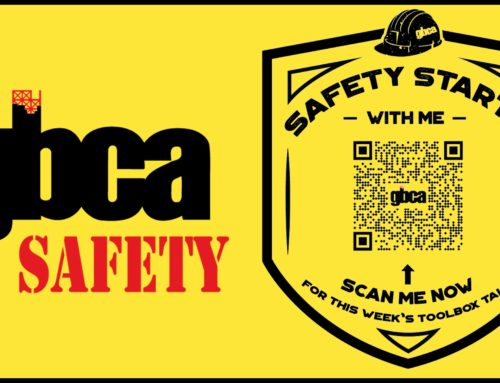 Safety Starts with Me: Access GBCA's Toolbox Talks Via QR Code