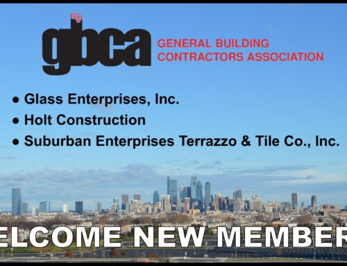 Welcome New GBCA Members